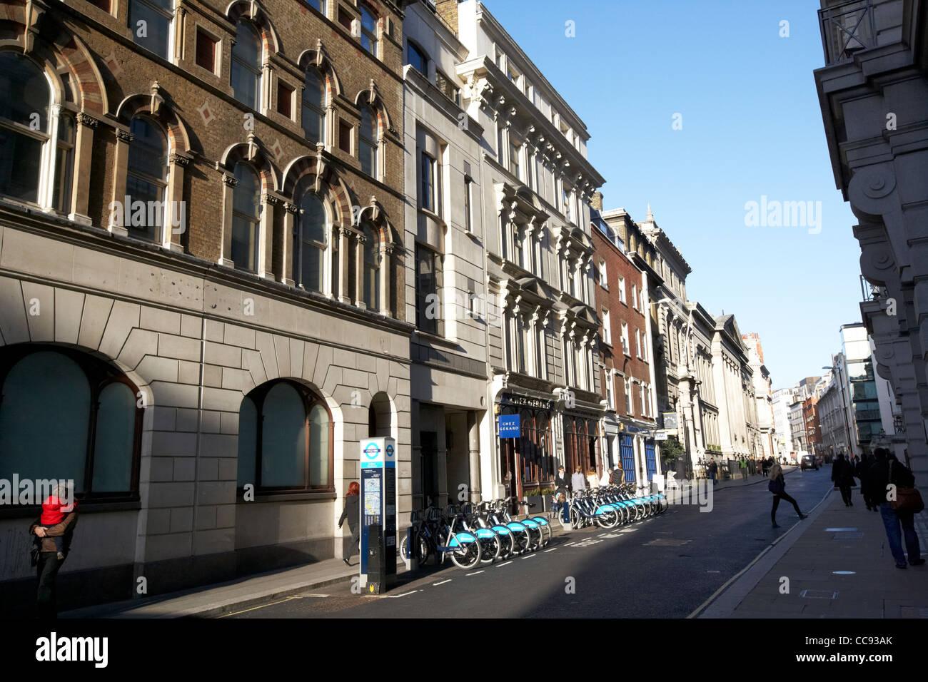 Gesamtansicht Chancery Lane London England UK-Vereinigtes Königreich Stockbild