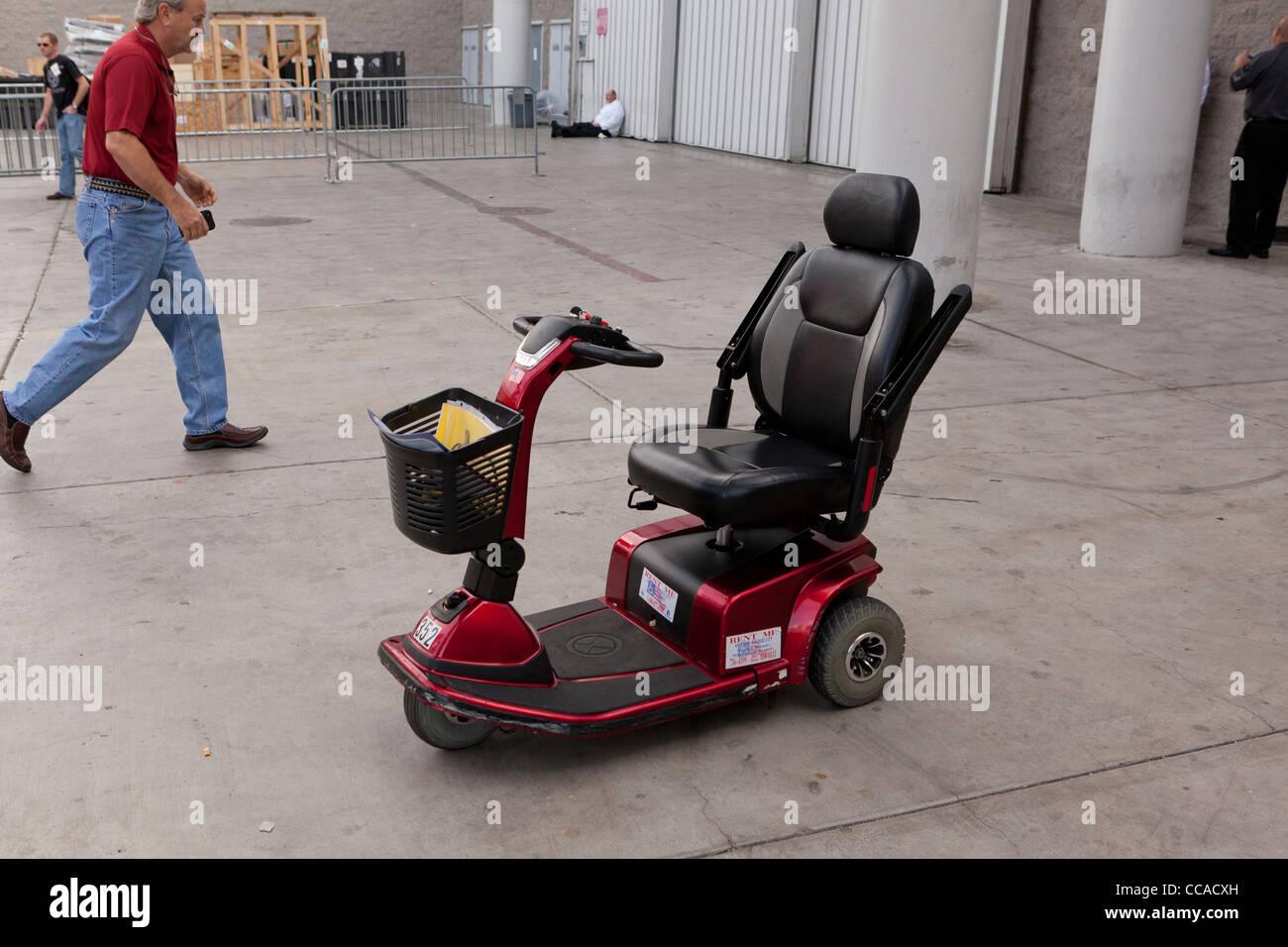 Mobilität scooter Stockbild