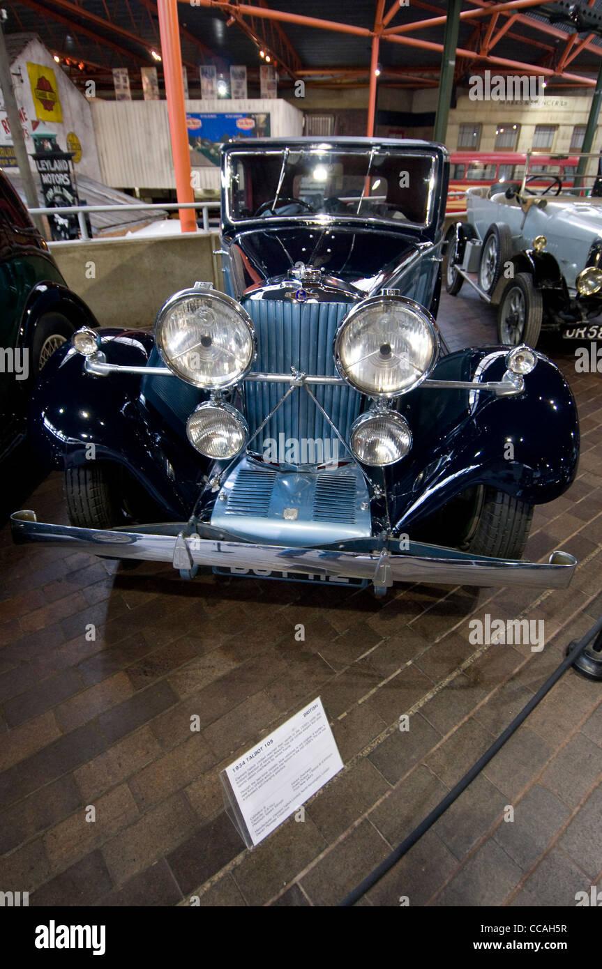Beaulieu National Motor Museum, New Forest Park, Großbritannien. Stockbild