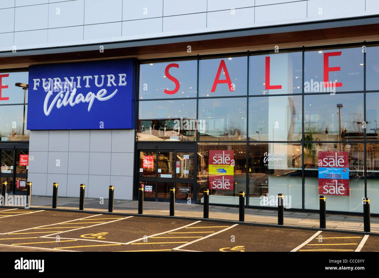 Village Möbel Shop Cambridge England Uk Stockfoto Bild 42065519