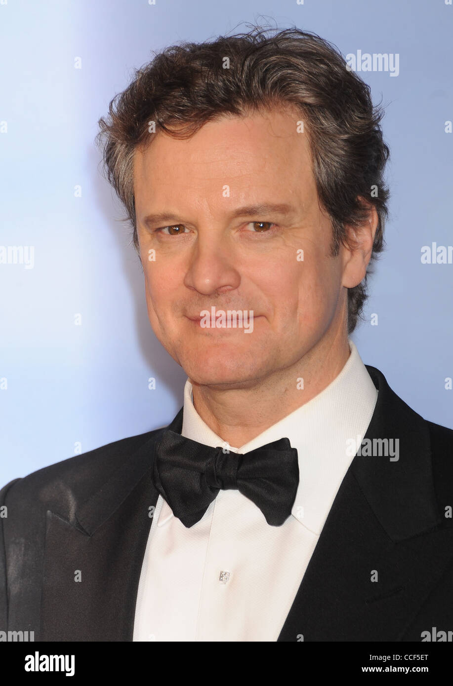 COLIN FIRTH UK Filmschauspieler im Januar 2012. Foto Jeffrey Mayer Stockbild