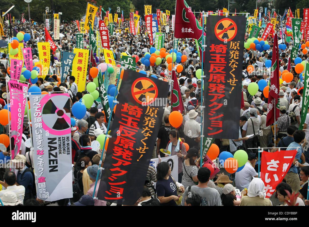 Karnkraftsprotest i japan