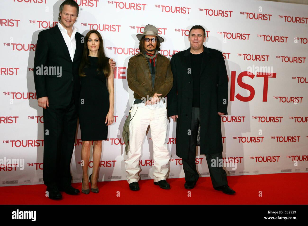 Florian Henckel Von Donnersmarck Angelina Jolie Johnny Depp Und