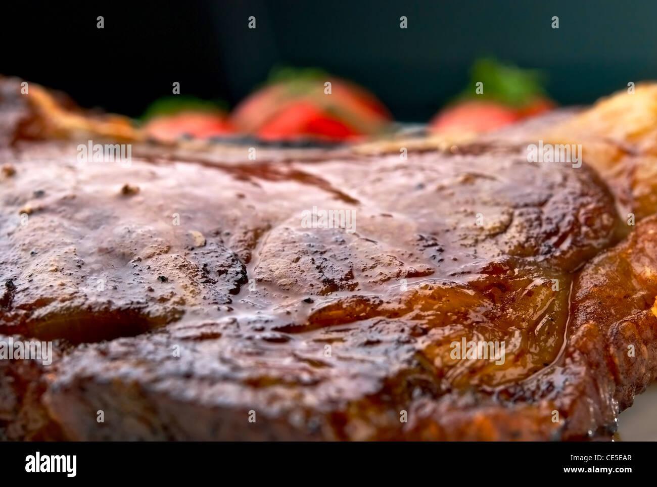 Streifen-Club-Steak San Diego