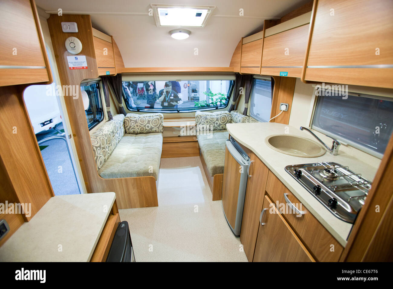 Caravan Interior Stockfotos & Caravan Interior Bilder - Alamy