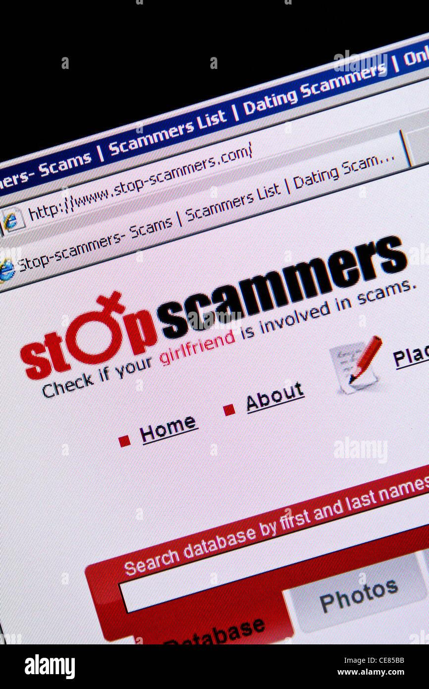 Online-Dating-Betrug Website