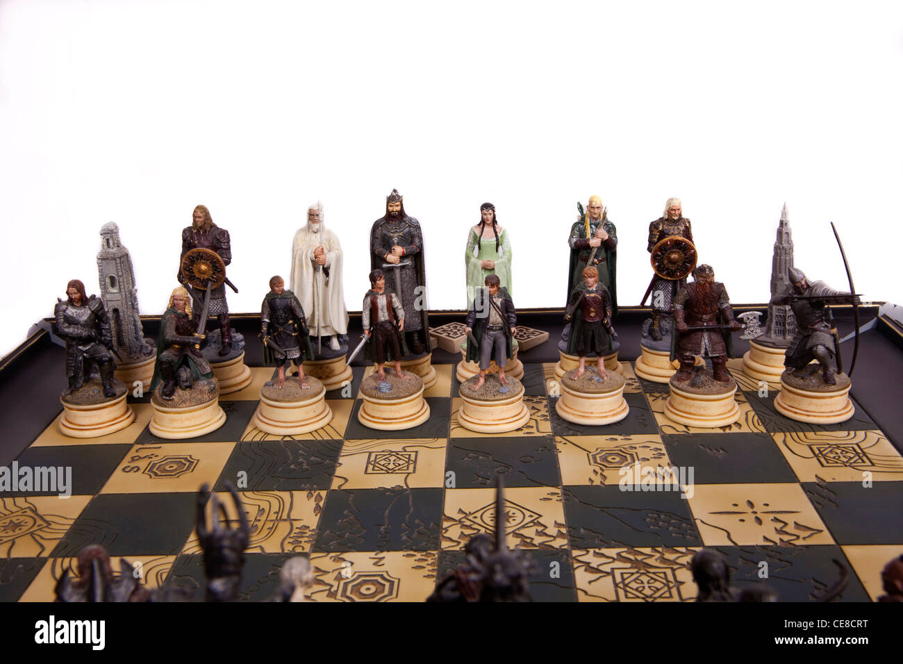 herr der ringe schachfiguren