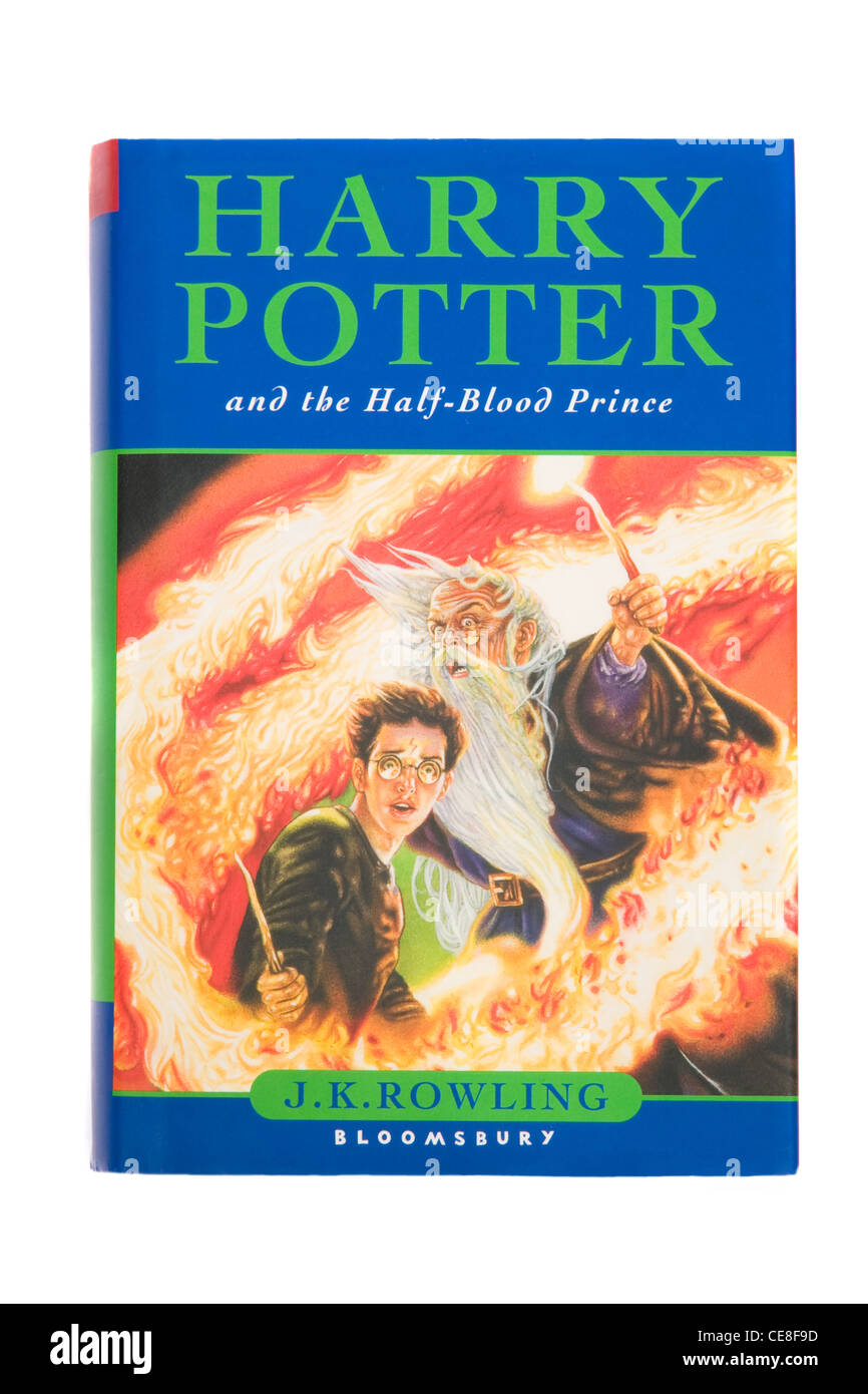 Harry Potter und der Halbblutprinz Stockbild