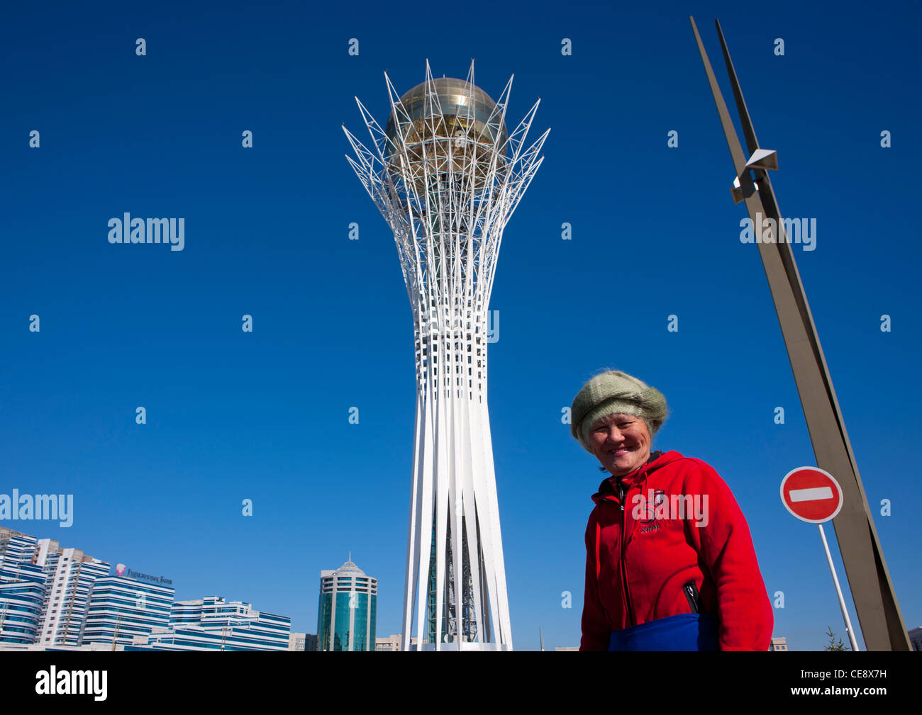 tower in astana stockfotos tower in astana bilder alamy. Black Bedroom Furniture Sets. Home Design Ideas