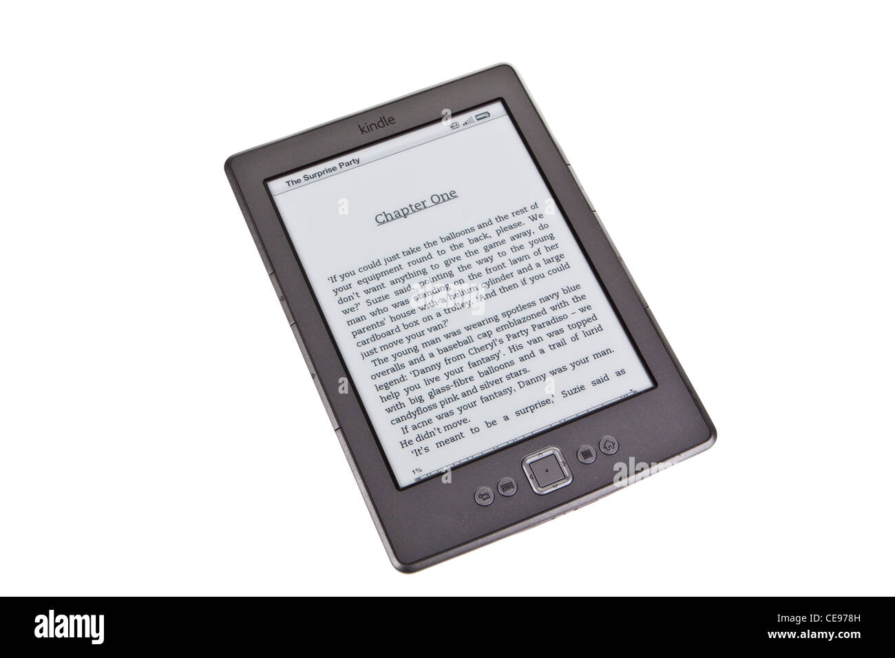 Kindle Ereader Ereader Tablet Amazon Wi Fi Stockfoto Bild 43229217