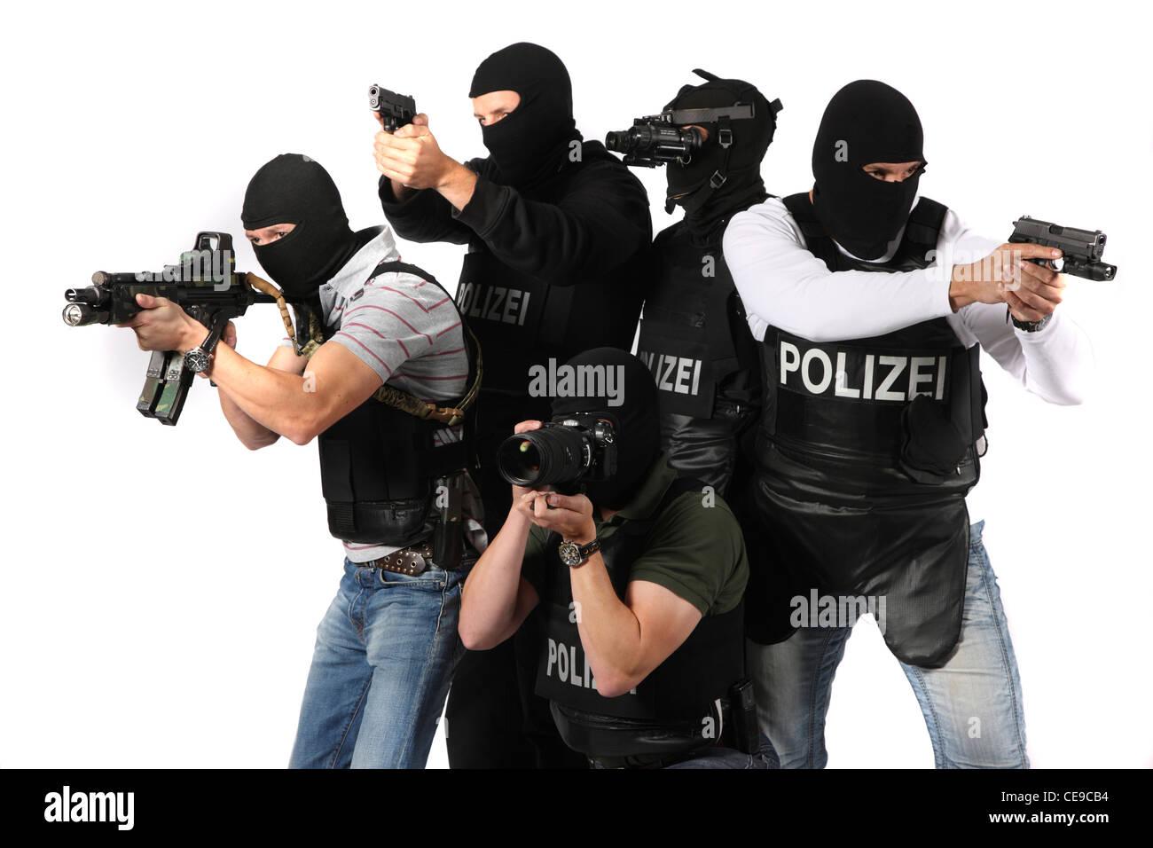 polizei swatteam polizeiliche spezialeinheit