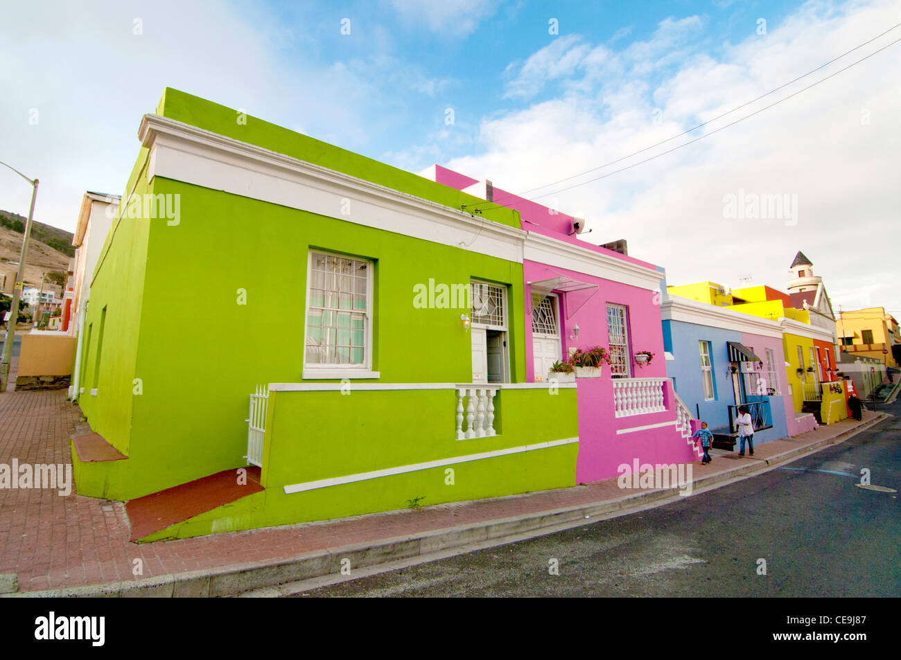 bo kaap stockfotos bo kaap bilder alamy. Black Bedroom Furniture Sets. Home Design Ideas
