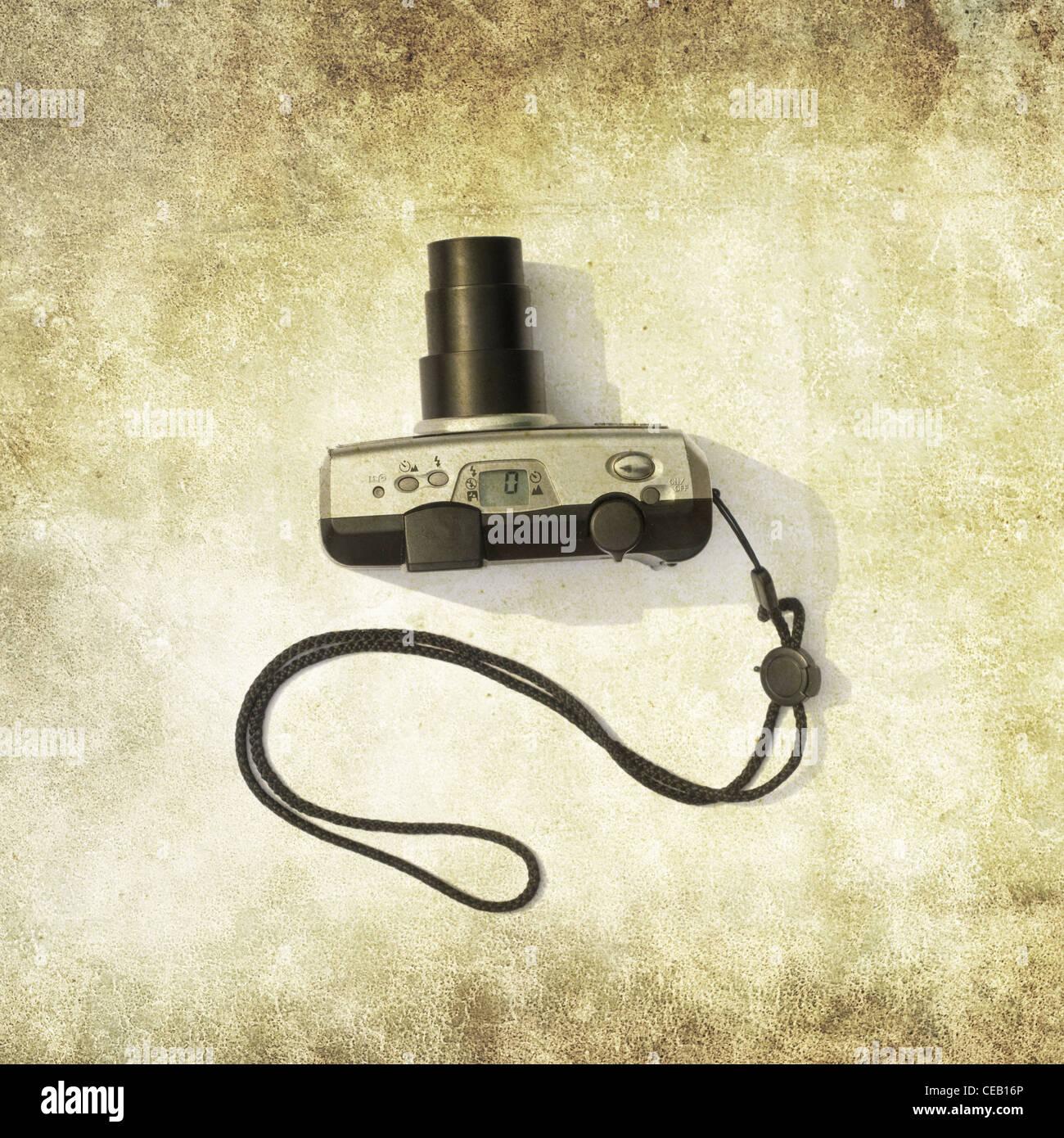kompakte Zoomkamera film Stockbild