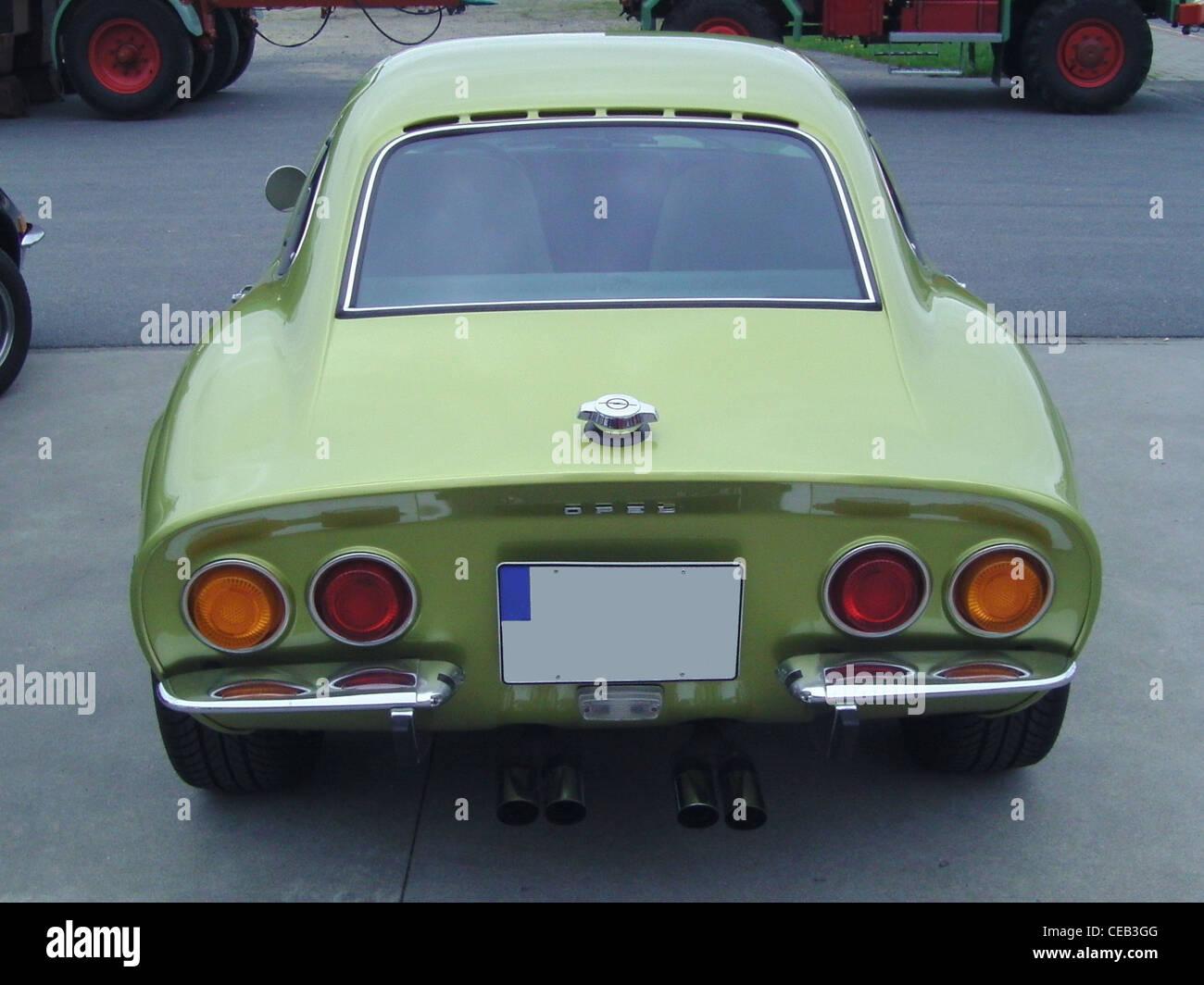 Opel GT Stockbild