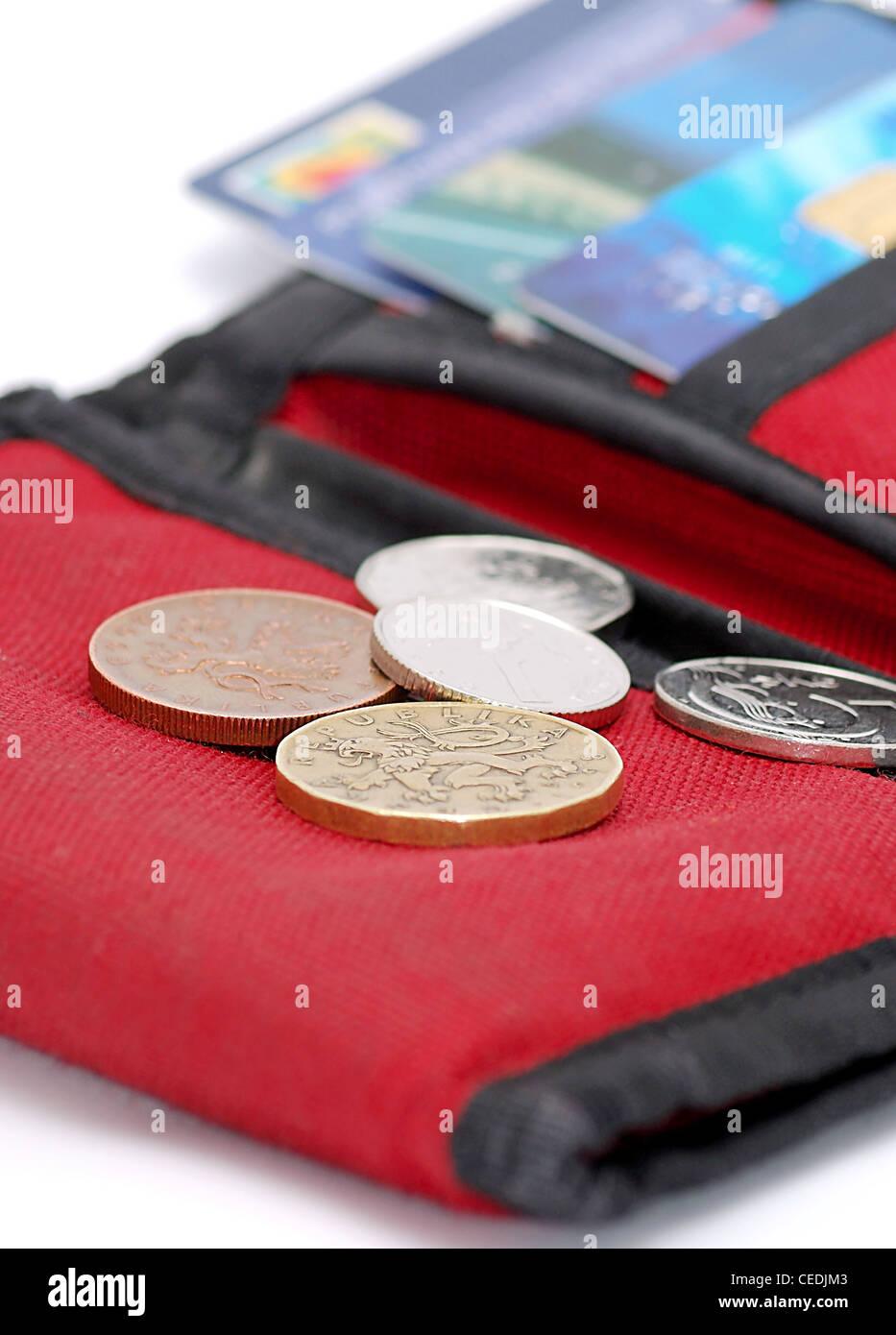 Rote Geldbörse Stockfotos Rote Geldbörse Bilder Alamy