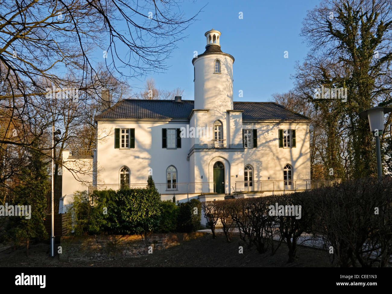 Haus Neuenhofen ein Haus des 19 Jahrhunderts in Krefeld