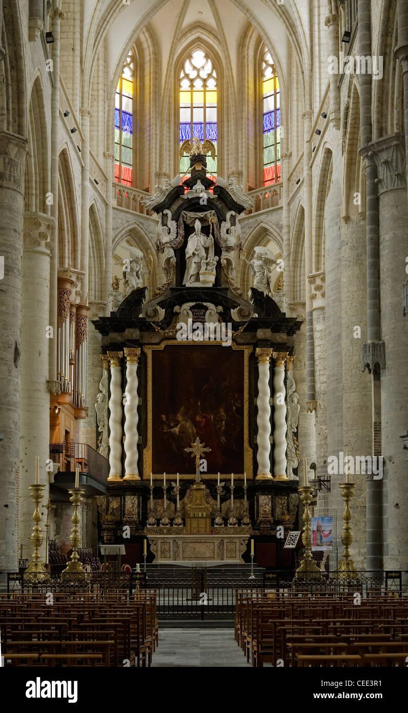 Amiens, Cathédrale Notre-Dame Stockbild
