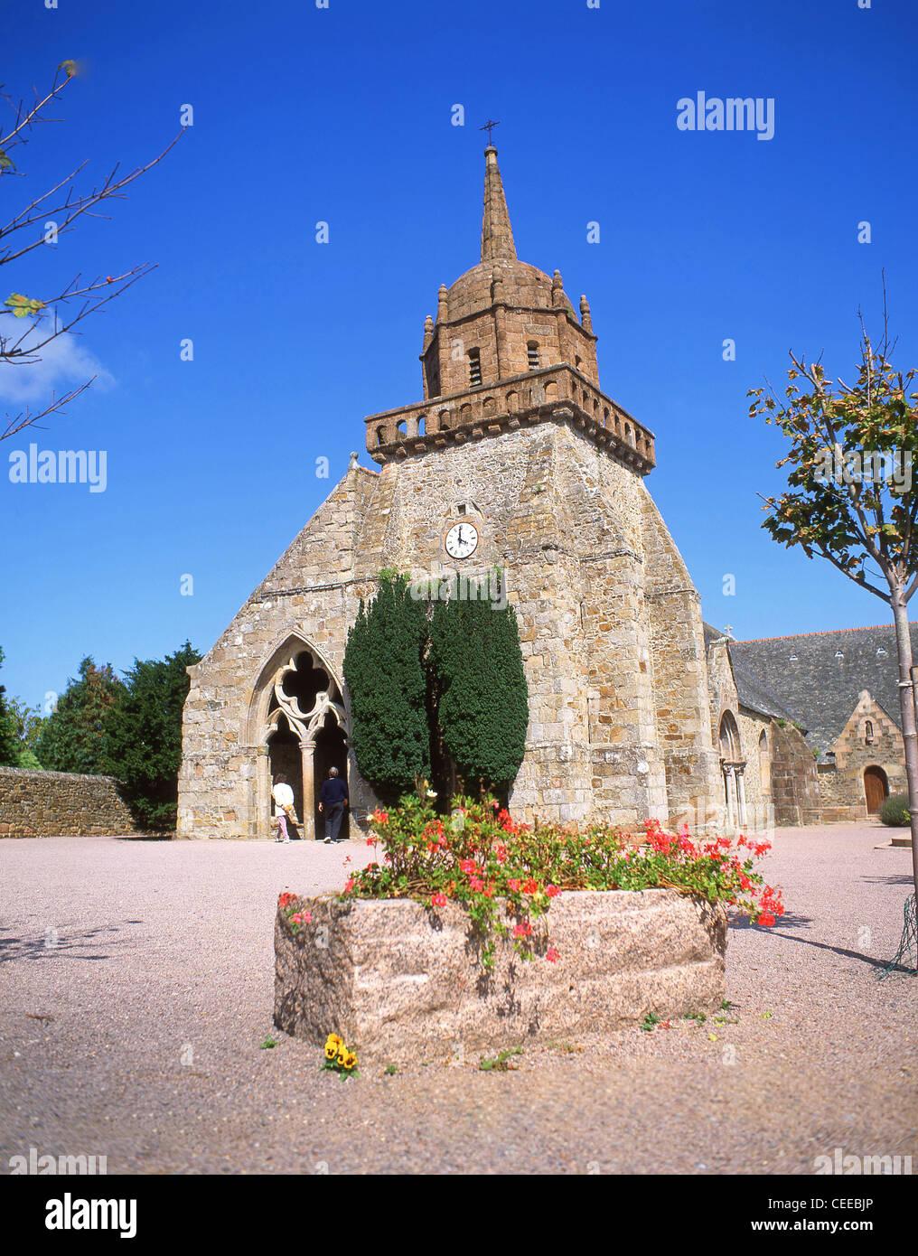 Perros-Guirec Kirche, Perros-Guirec, Côtes-d ' Armor, Bretagne, Frankreich Stockbild