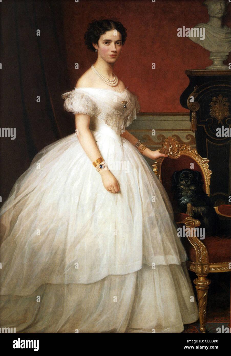 Prinzessin Dagmar von Dänemark Stockbild