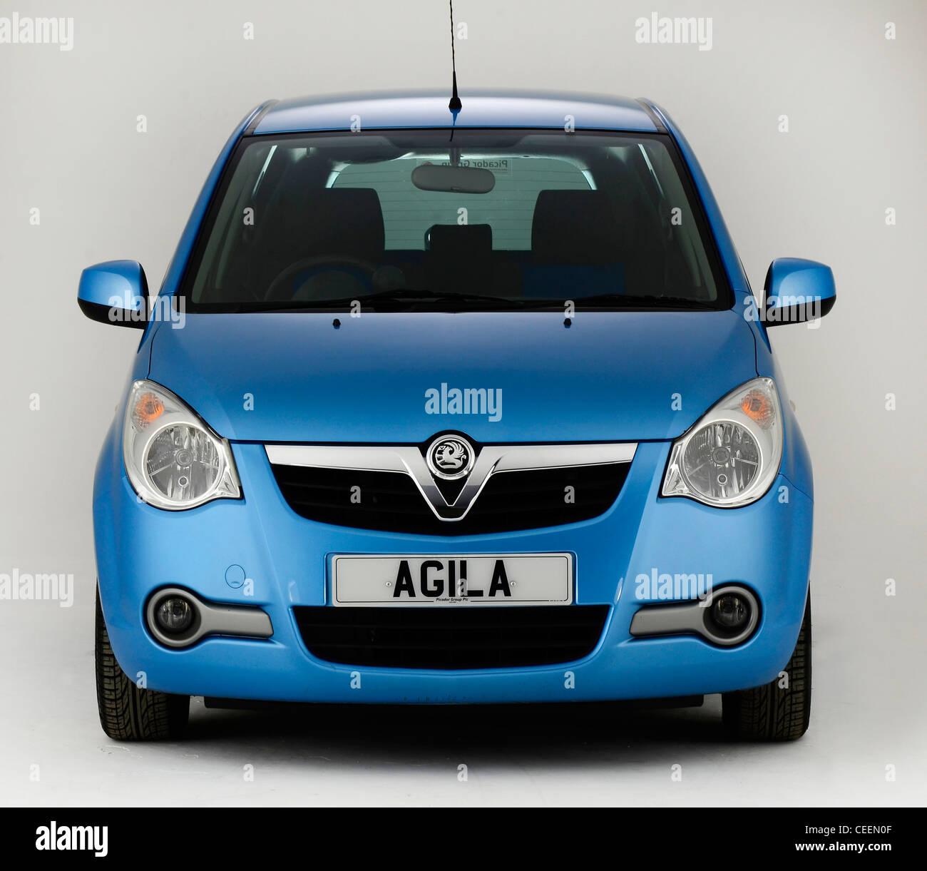 2010-Vauxhall Agila Stockbild