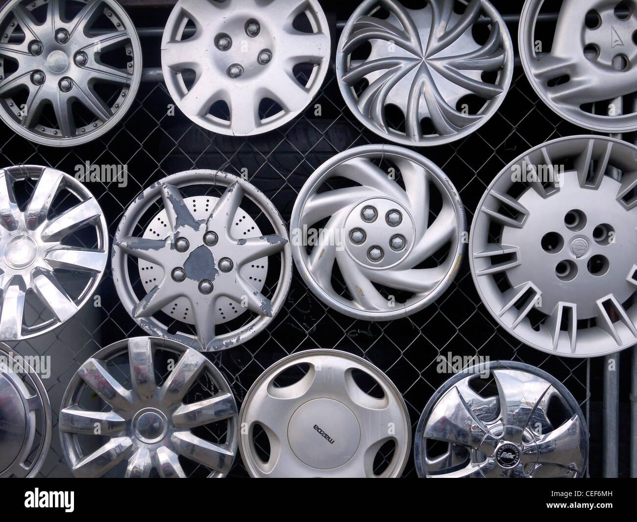 Wheel Hubcaps Stockfotos & Wheel Hubcaps Bilder - Alamy