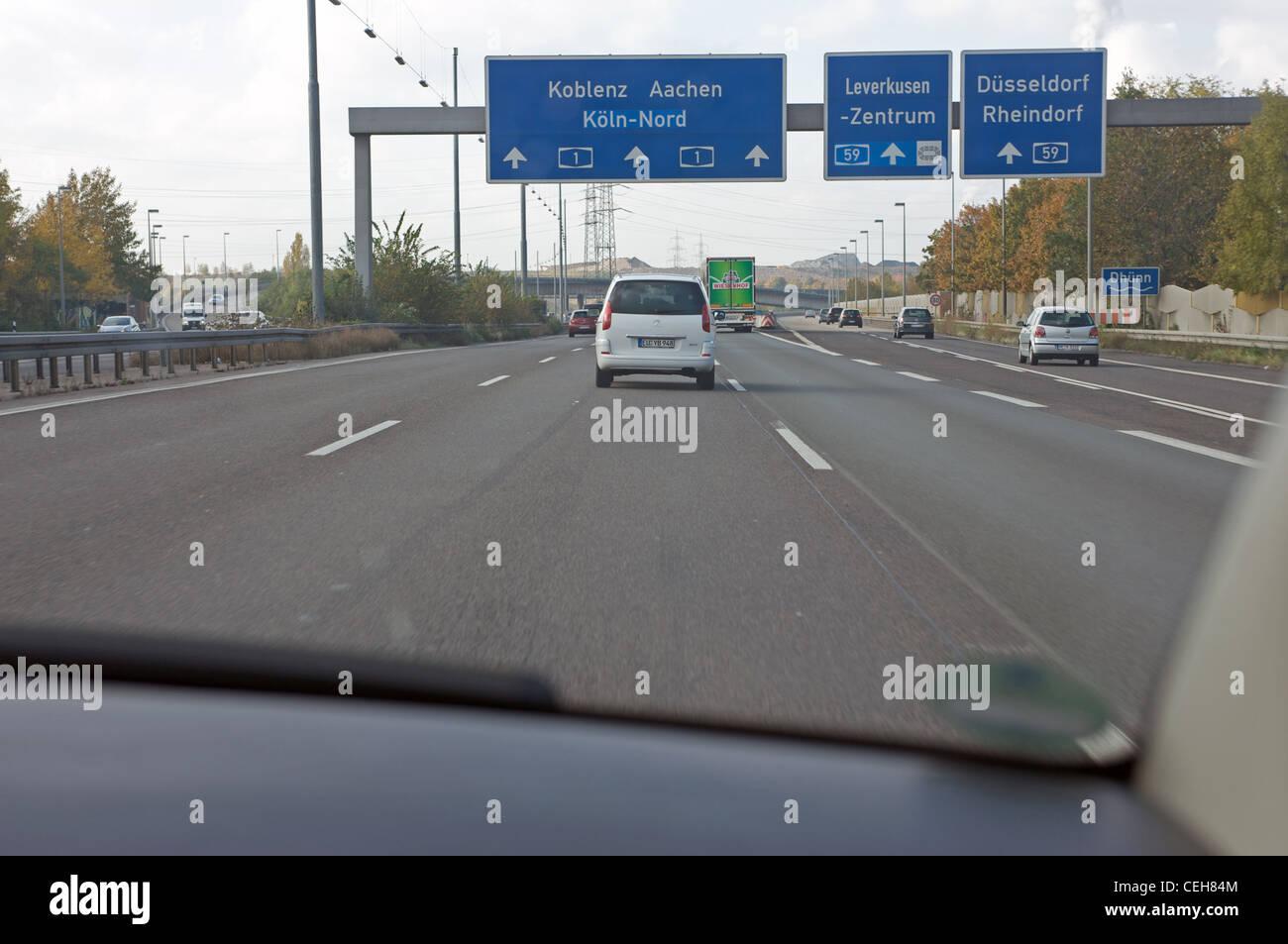 Autobahn Leverkusen