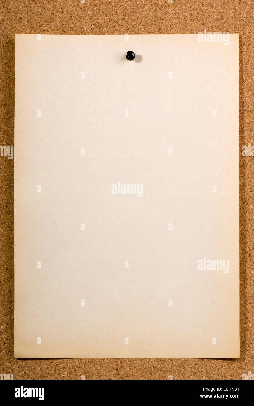 Old Pin Paper Stockfotos & Old Pin Paper Bilder - Alamy