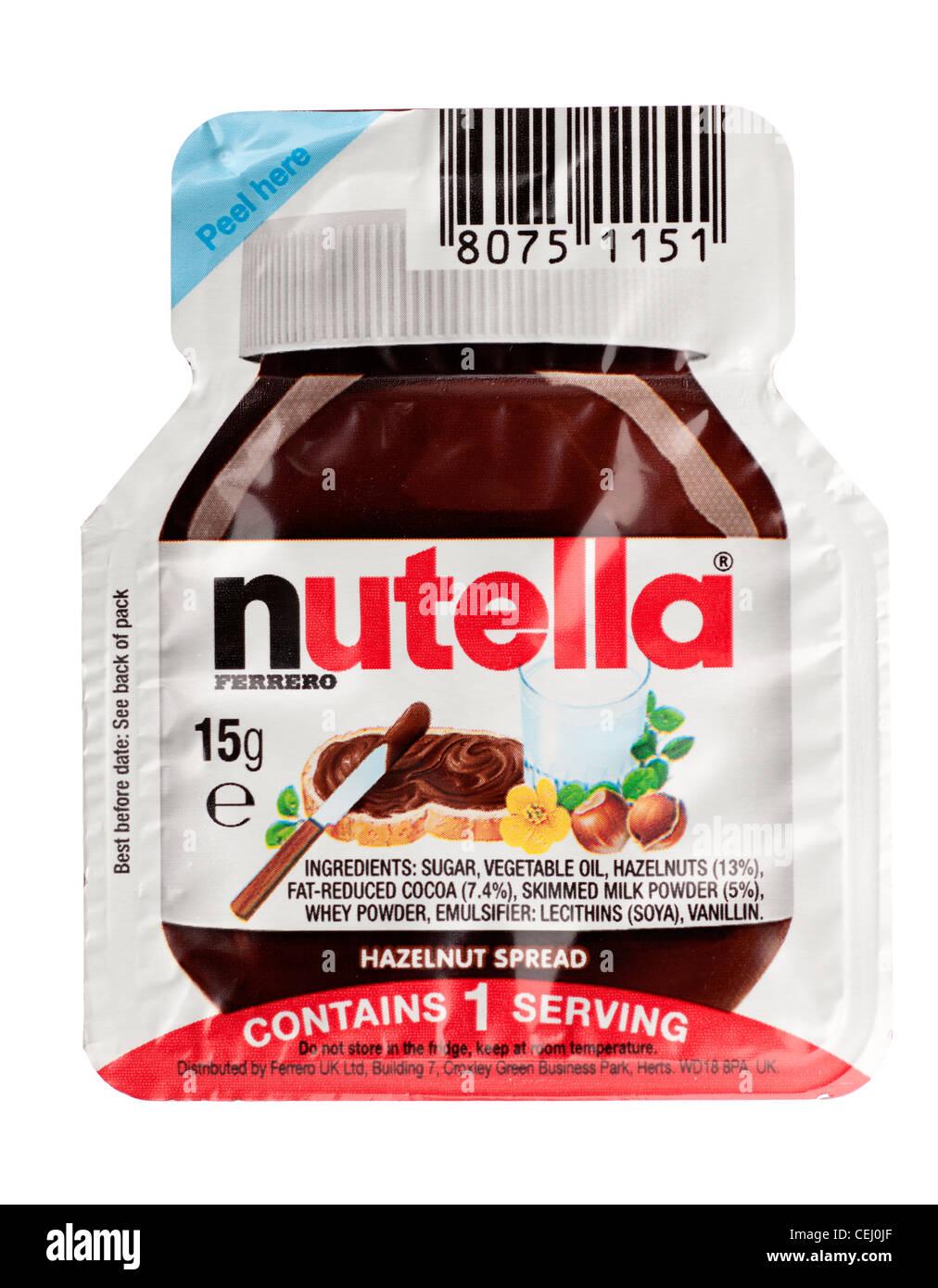 Nutella Gramm