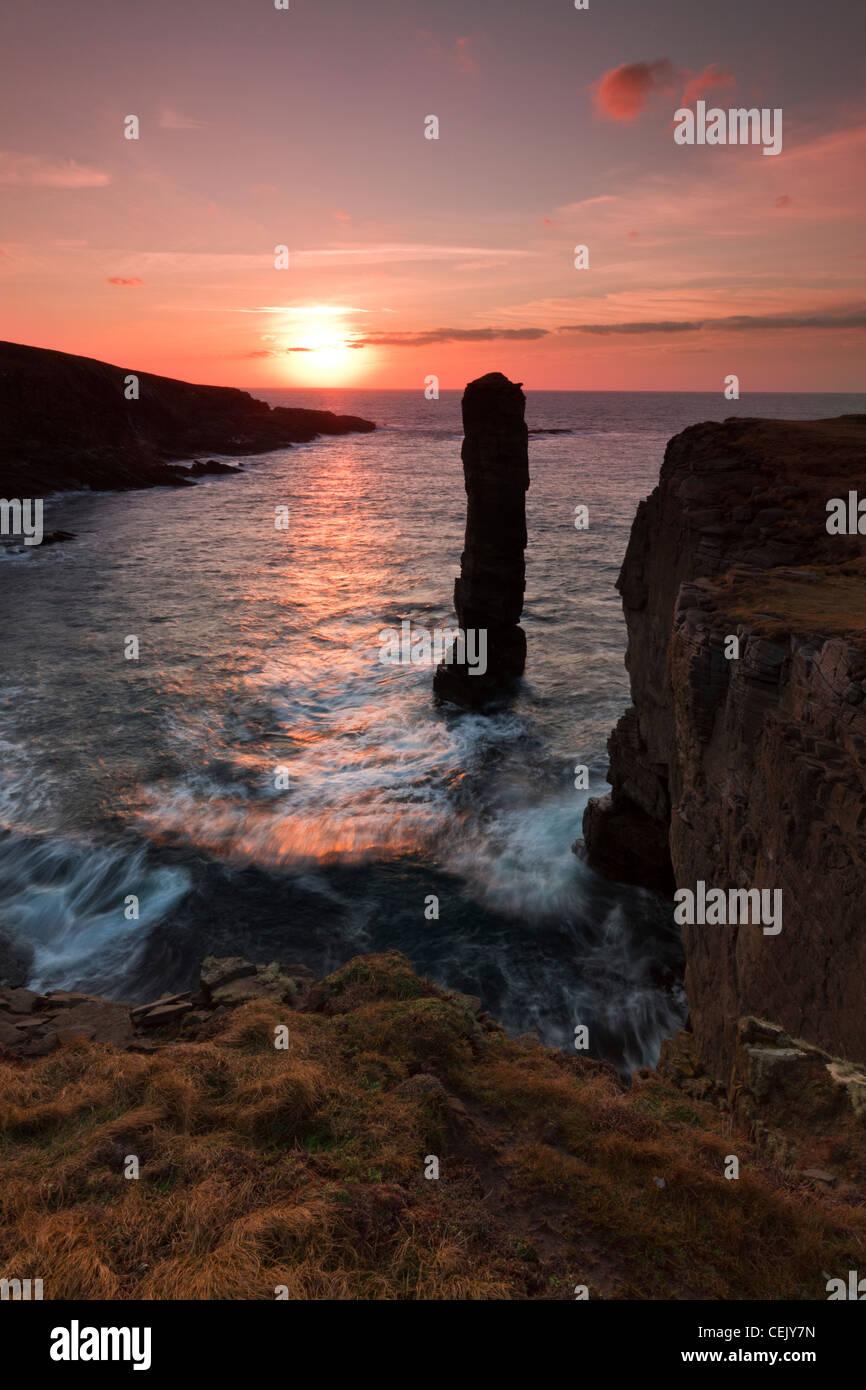 Orkney-Inseln, Yesnaby Stockbild