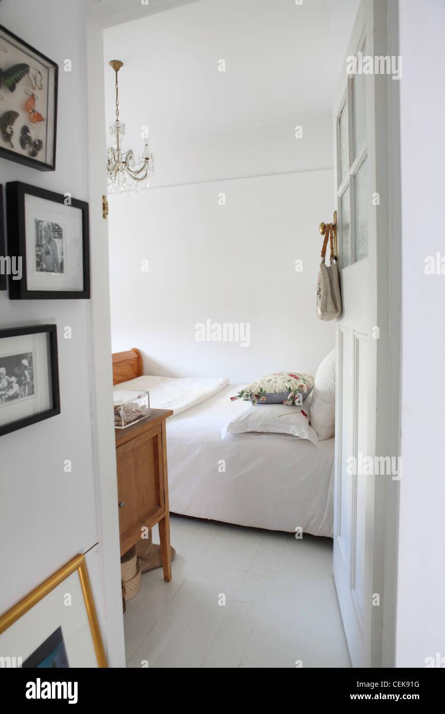 Sydney Wohnung Schlafzimmer Interidetail Gerahmten Schmetterlinge