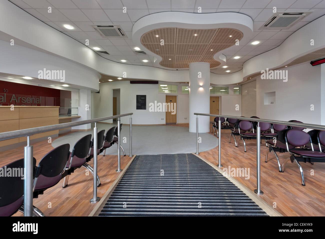 Medizinisches Zentrum Royal Arsenal in Woolwich Stockbild