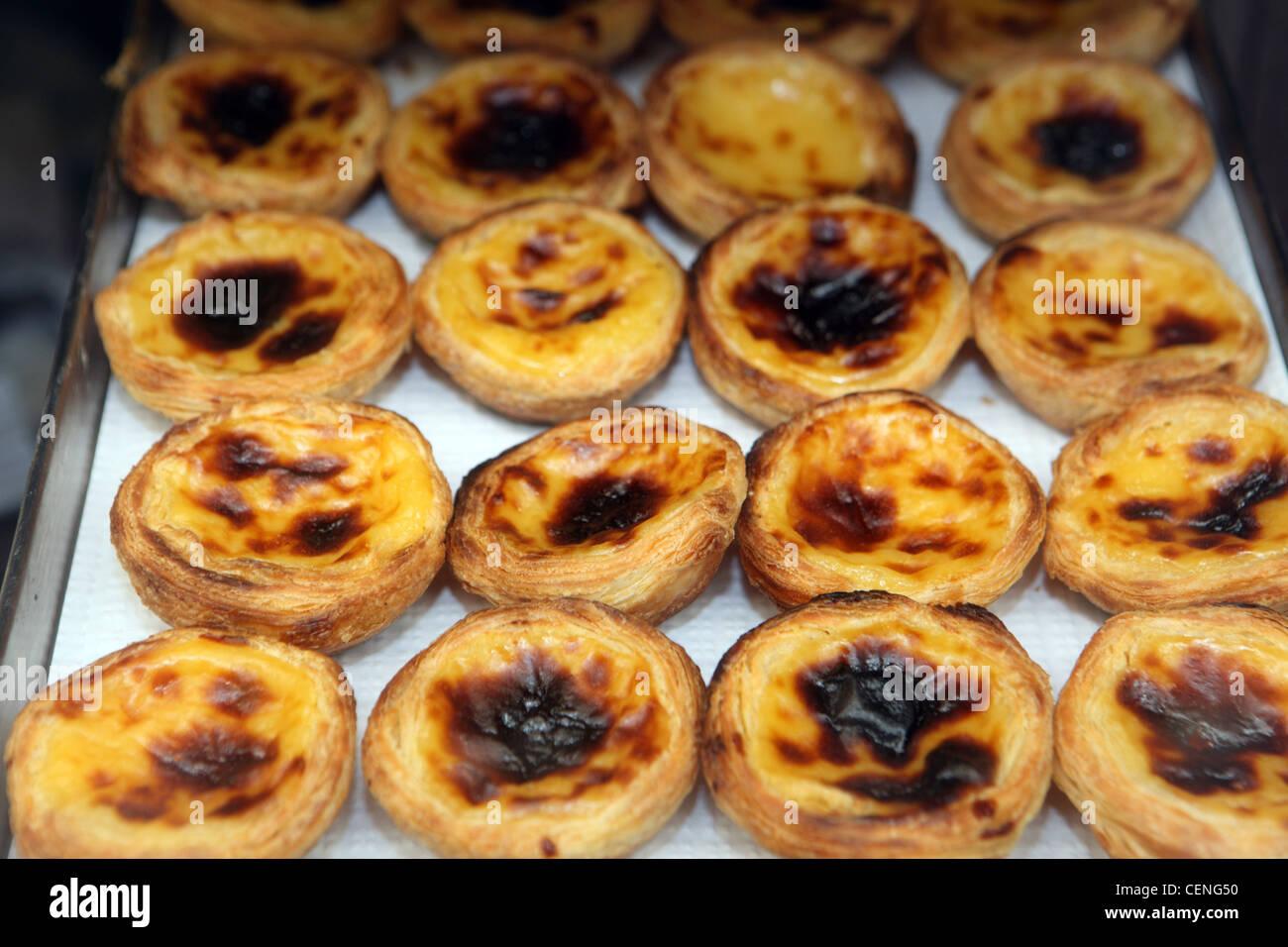Pastel De Nata Portugiesische Eiercreme Kuchen Zum Verkauf In
