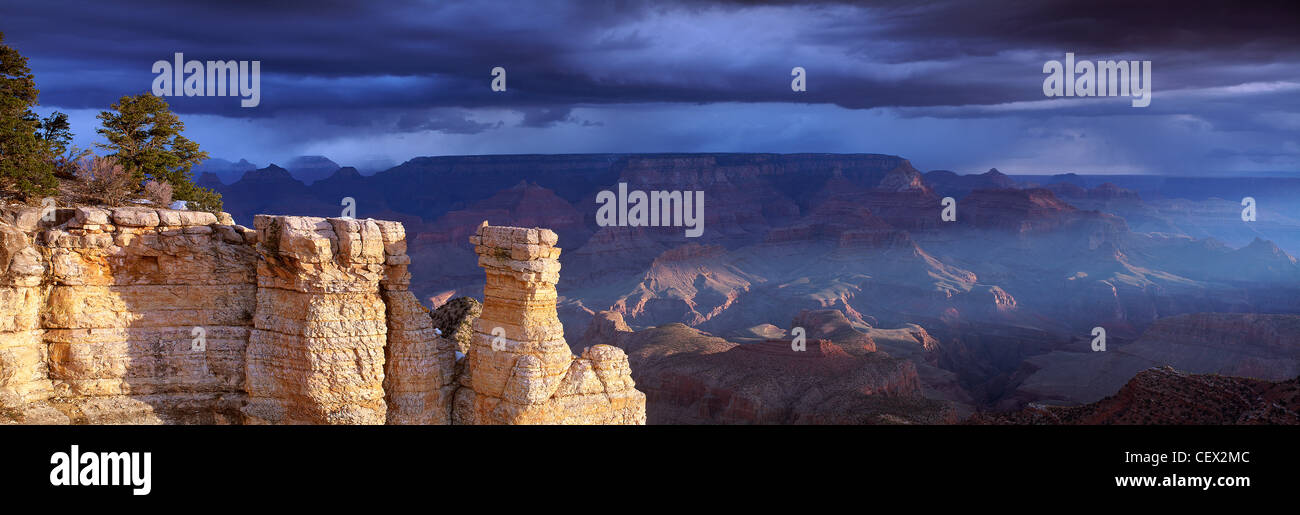 Der Grand Canyon, Arizona, USA Stockbild