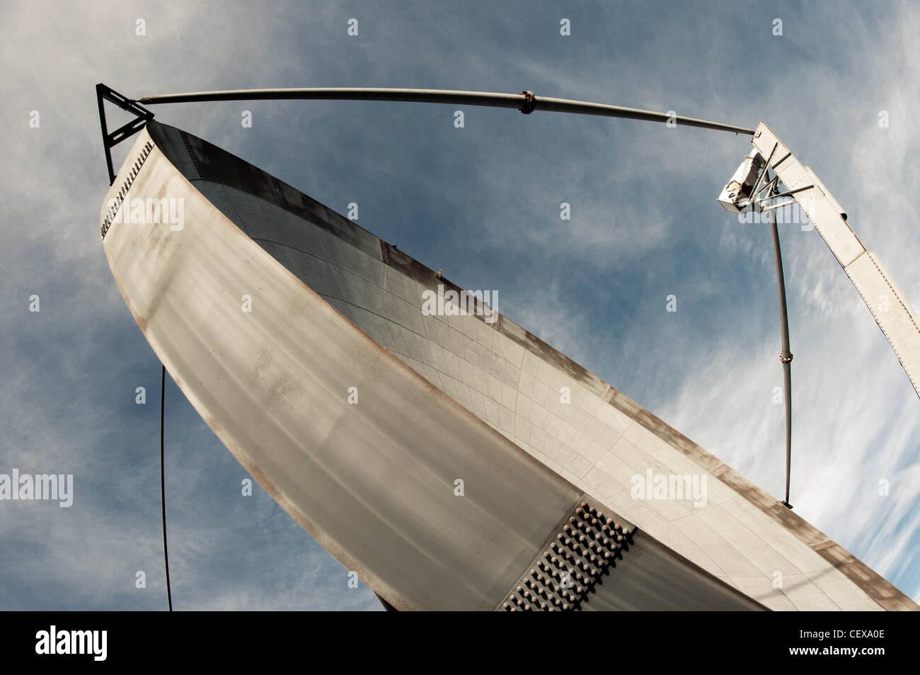 Antenne Sat-radar Stockbild