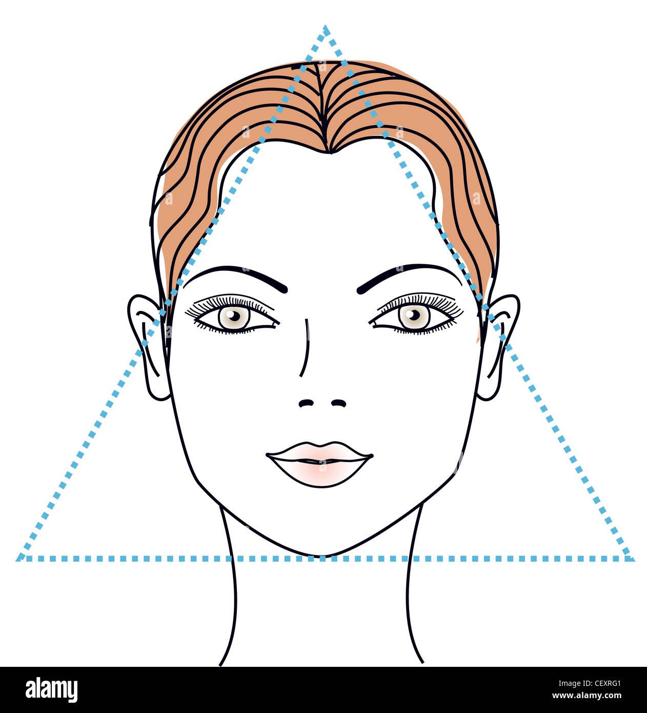 Fein Glasrahmen Für Gesichtsformen Bilder - Benutzerdefinierte ...