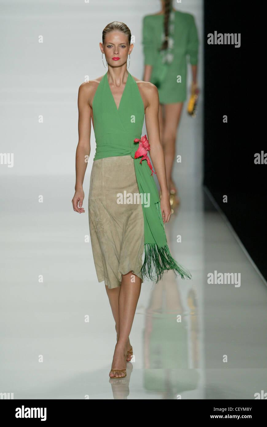 Celine Paris Bereit Zu Tragen Frühling Sommer Modell Blonde Haare