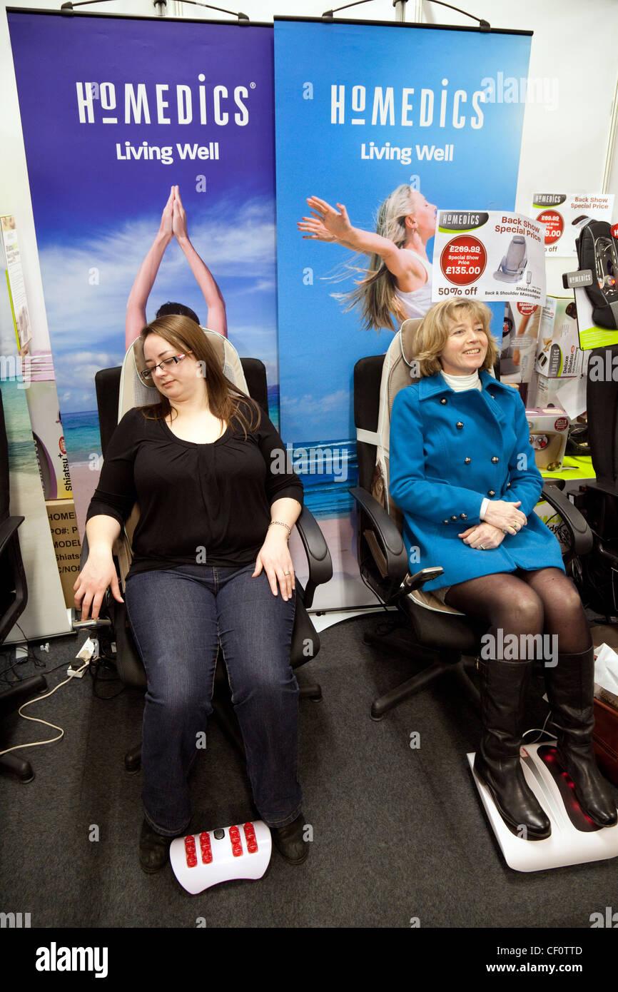 London reife Dame Massage
