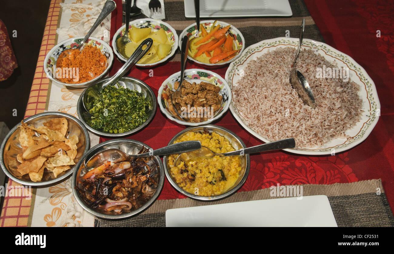 Sri Lanka Küche Stockfotos & Sri Lanka Küche Bilder - Alamy