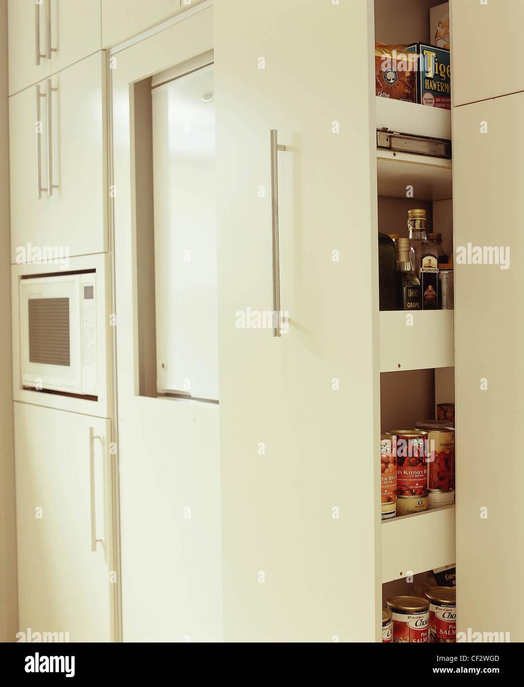 b drei verschiedene Küche Stile Wand verschiedener Größe Creme ...