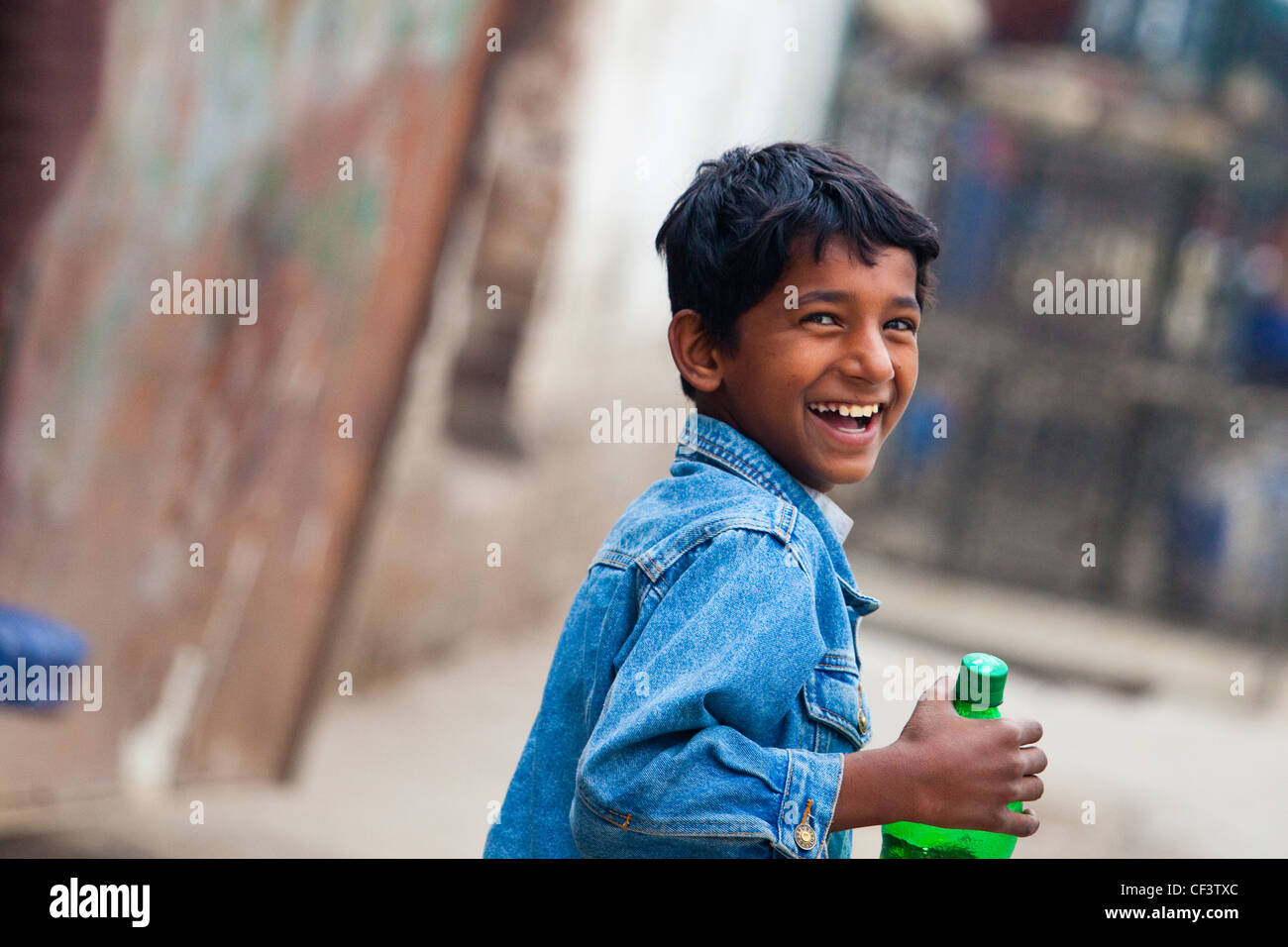 Lächelnde pakistanischen jungen, Islamabad, Pakistan Stockbild