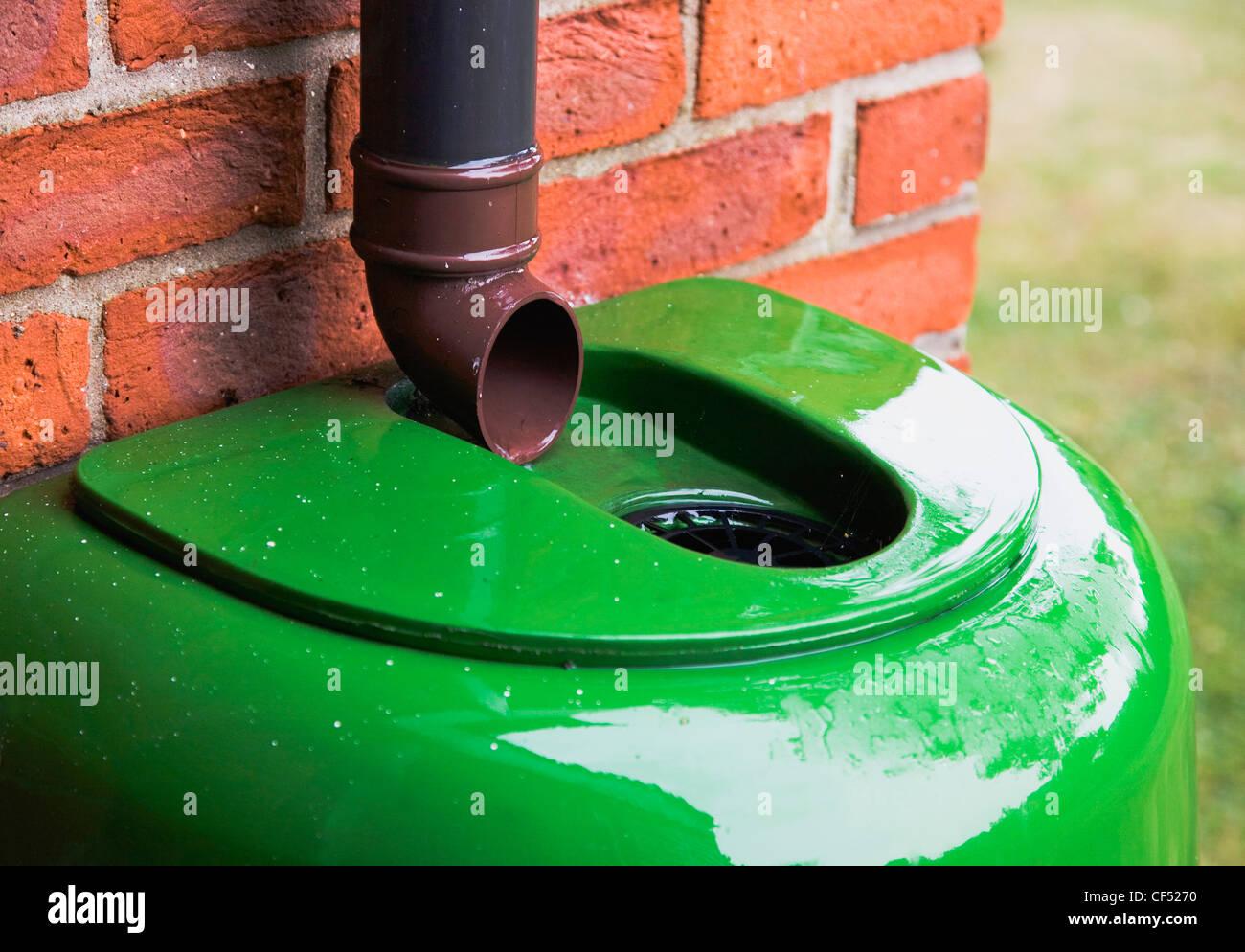 Beliebt Umwelt, Wasser, Dürre, Kunststoff Regentonne sammeln Regenwasser ZP83