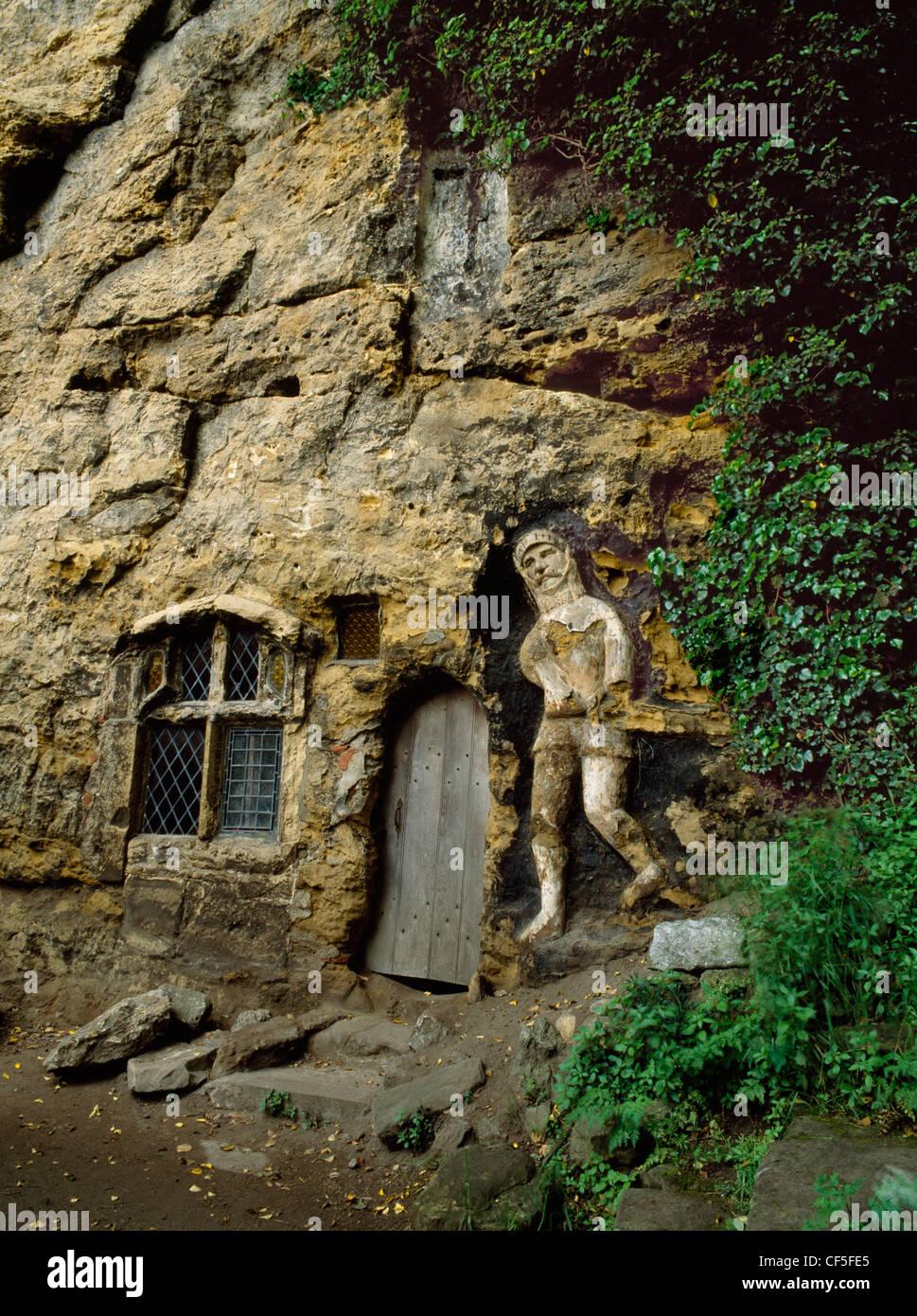 Der Bildstock Kapelle der Muttergottes von der Felswand wurde 1408 von John Mason als Dank für die wunderbare Stockbild