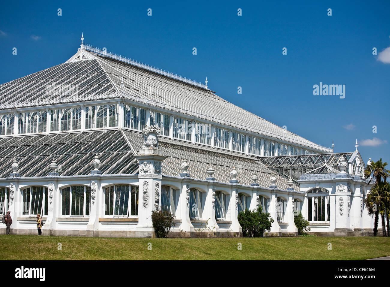 Haus Im Gewächshaus die gemäßigten haus größte erhaltene viktorianische gewächshaus der