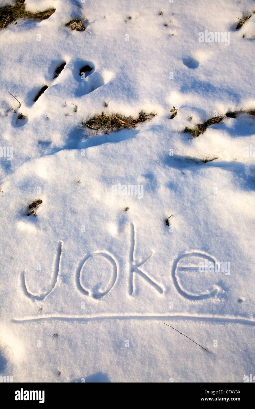 Witze schnee Kolumbianer Witze
