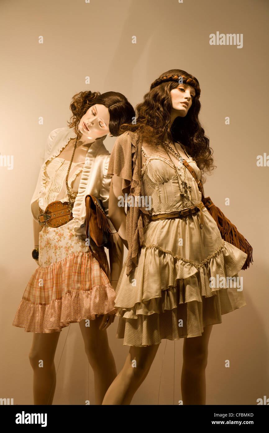 Dummy - Mode - Frau-Modus Stockbild