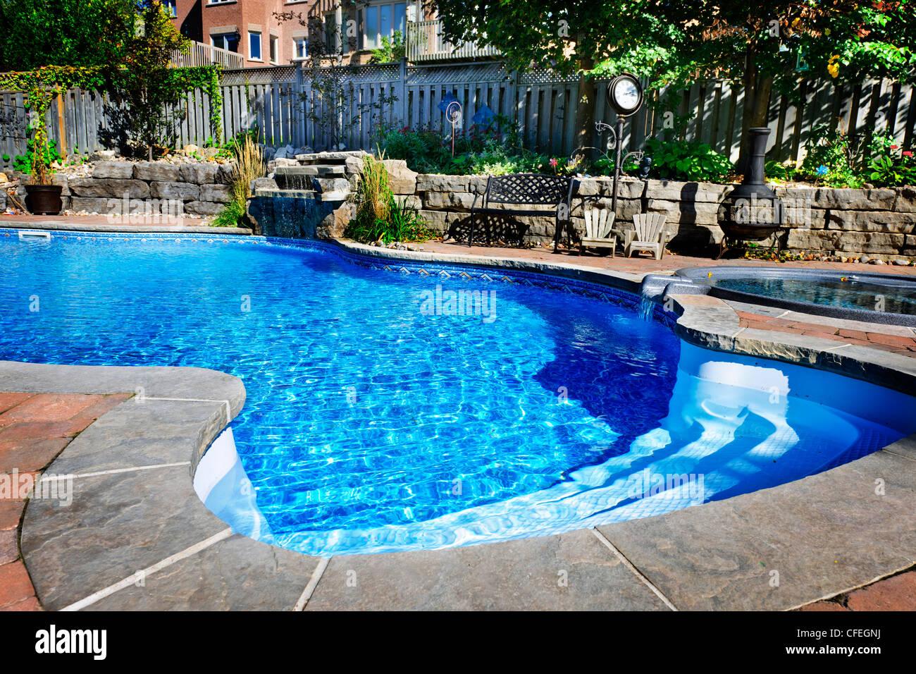 Inground Swimming Pool Stockfotos & Inground Swimming Pool ...