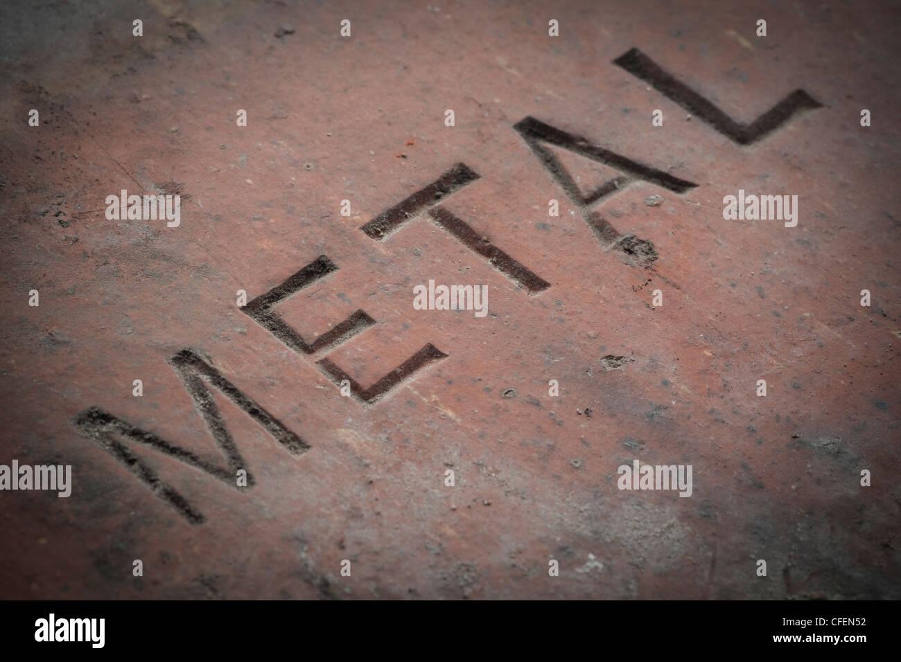 Hersteller Dachziegel detail der hersteller name metall auf eine inländische dachziegel