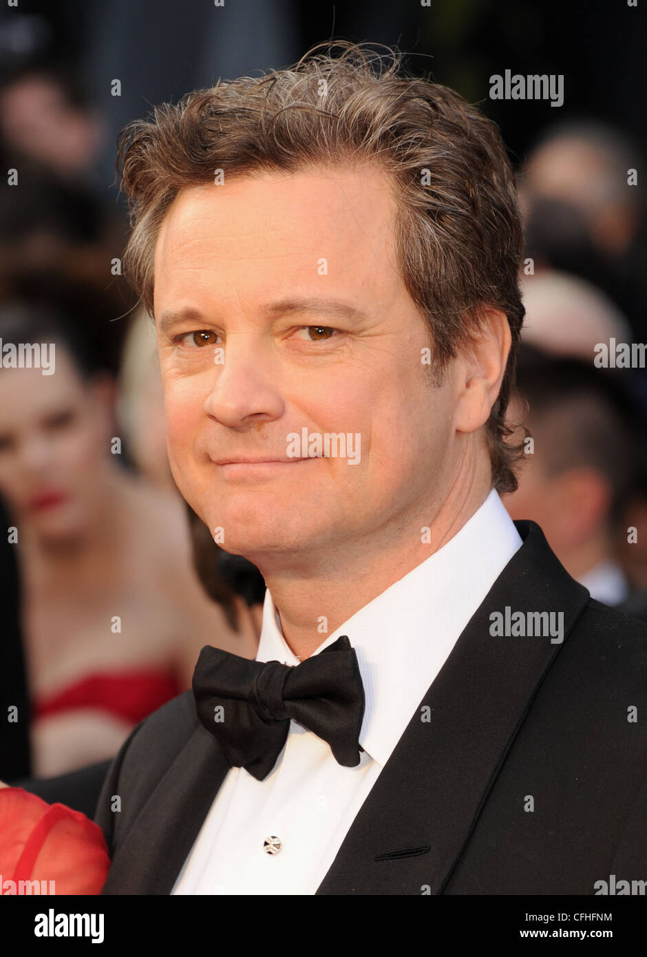 COLIN FIRTH UK Filmschauspieler im Februar 2012. Foto Jeffrey Mayer Stockbild