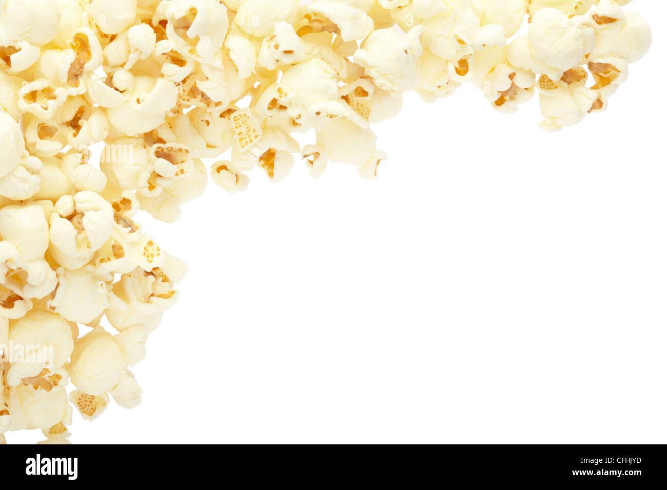 Popcorn-frame Stockfoto