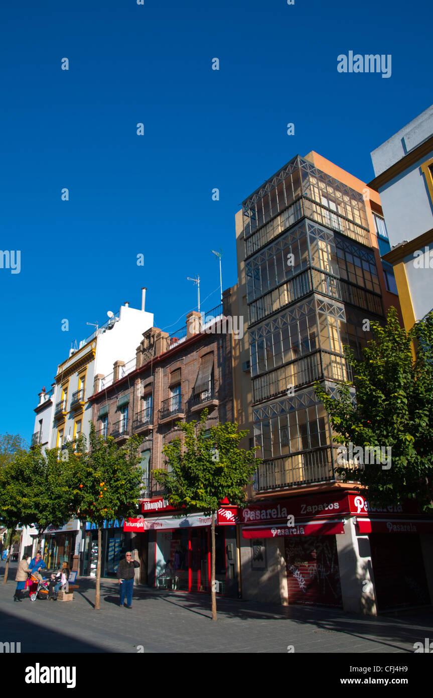 Sevilla Spain House Stockfotos Amp Sevilla Spain House
